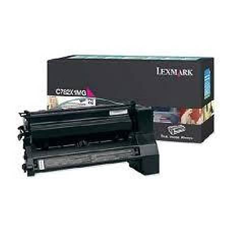 Lexmark C782X1MG Kýrmýzý Toner