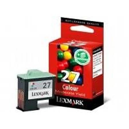 Lexmark 10NX227 CMY Mürekkep Kartuþ (27)