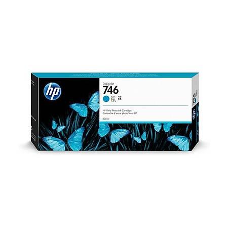 HP P2V80A 746 Orjinal Cyan Kartuþ 300ML
