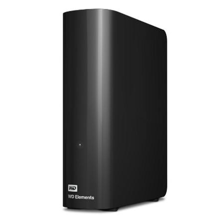 WD WDBWLG0040HBK-EESN Elements 3.5'' 4TB Black USB 3.0 Disk
