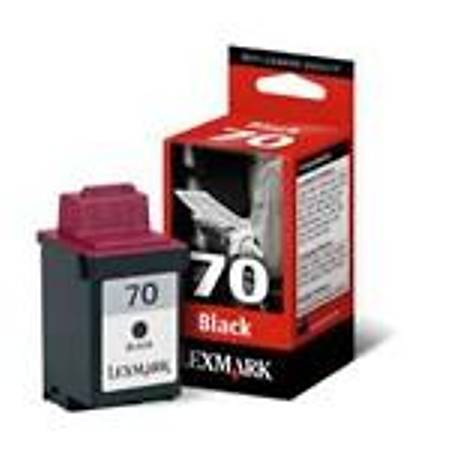 Lexmark 12AX970E Black Mürekkep Kartuþ (70)