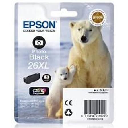 EPSON 26xl Orjinal Photo Siyah Kartuþ - C13T26314020