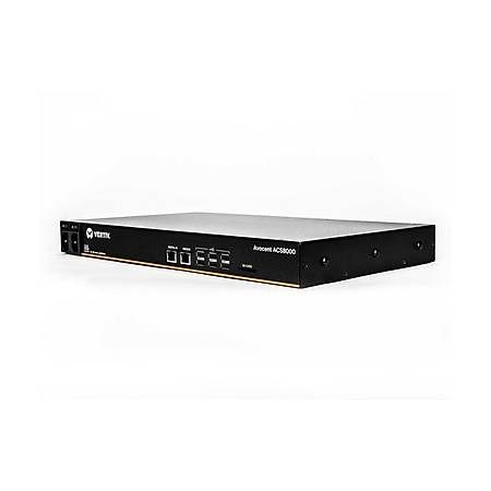 16-Port ACS8000 Console System with dual