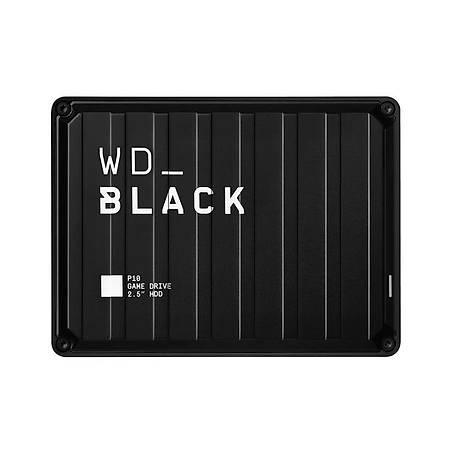 WD WDBA3A0040BBK-WESN Black 4TB P10 Game Drive