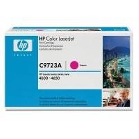 HP C9723A Magenta Toner Kartuþ