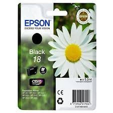 Epson T18014020 Siyah Kartuþ