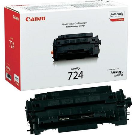 Canon CRG-724 - i-SENSYS LBP6750dn - 6780x - MF512X - MF515X Orjinal Toner