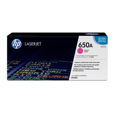HP 650A CE273A - Color LaserJet Enterprise M750 - CP5525 Orjinal Magenta Toner