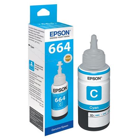 EPSON 664 T6642 Orjinal Mavi Mürekkep