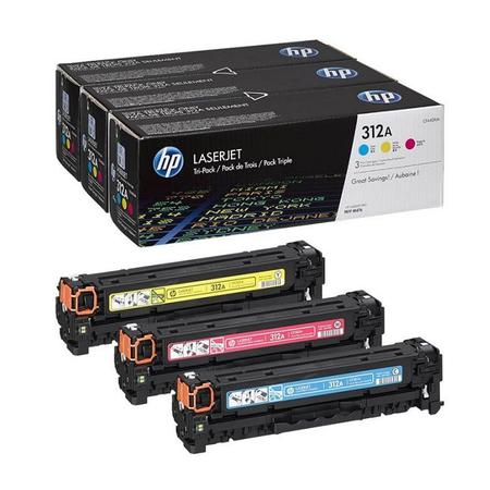 HP 312A CF440AM - Hp M476DN - M476DW - M476NW Orjinal Renkli Set (CF381A-CF382A-CF383A)