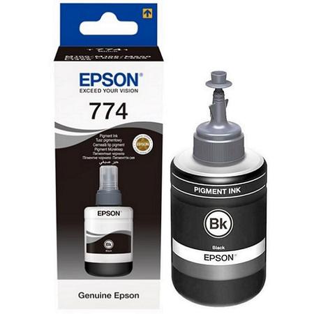 EPSON T7741 774 - M100 - M105- M200 - M205 - L605 - L655 - L1455 ORJINAL SIYAH MÜREKKEP