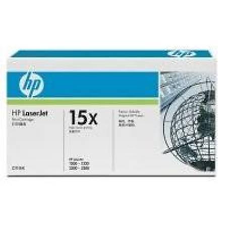 HP C7115X Black Toner Kartuþ (15X)