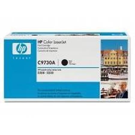 HP C9730A Black Toner Kartuþ