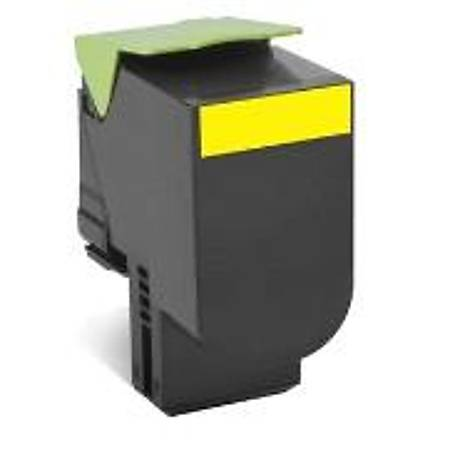 Lexmark 70C8XY0 Yellow Return Toner 4000