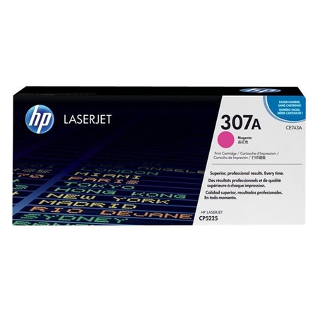 HP 307A CE743A - Renkli LaserJet Professional CP5225 Orjinal Magenta Toner