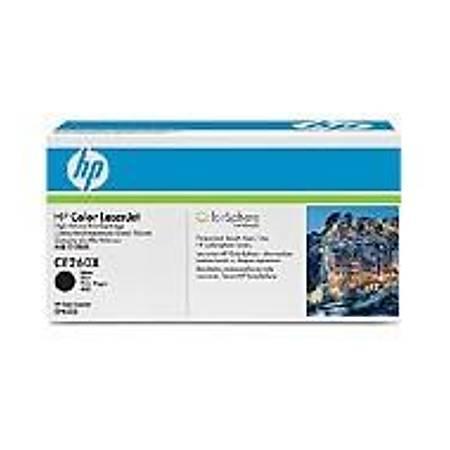 HP CE260X Black Toner Kartuþ (649X)