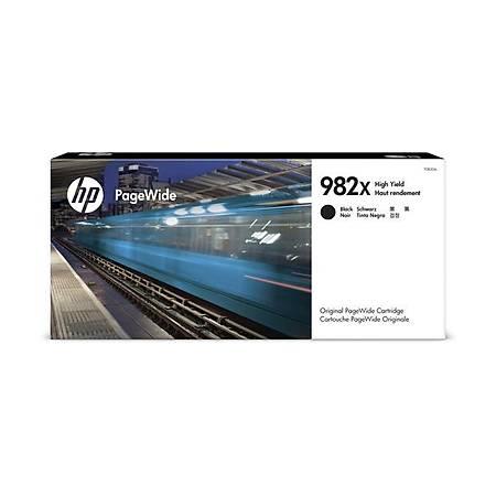 HP 982X SİYAH KARTUŞ; PAGEWİDE YÜKSEK KAPASİTE ORJİNAL T0B30A