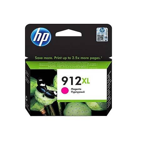 HP 912XL MAGENTA KARTUÞ , HP 912XL 3YL82AE ORJÝNAL MAGENTA KARTUÞ
