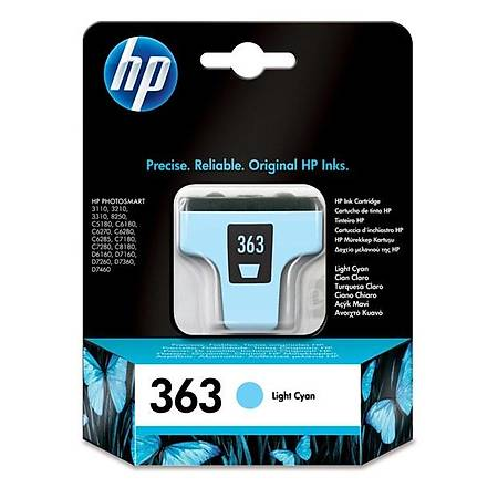 HP C8774E Light Cyan Mürekkep Kartuþ (363)