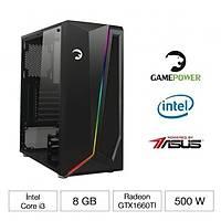 GAMEPOWER NARWHAL 9100F 8GB GTX1660TI-A6G GAMING BÝLGÝSAYAR