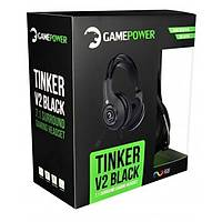 GamePower Týnker V2 Siyah 7.1 Titreþimli Gaming Kulaklýk