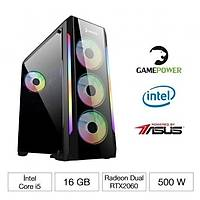 GAMEPOWER UNICORN 9400F 16GB RTX2060-O6G GAMING BÝLGÝSAYAR