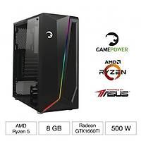 GAMEPOWER RANGER RYZEN 5 2600 8GB GTX1660TI-A6G GAMING BÝLGÝSAYAR