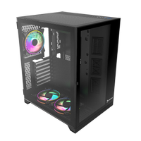 GAMEPOWER WARCRY COMPACT 650W 80+ ATX GAMING KASA (3 ARGB FAN)