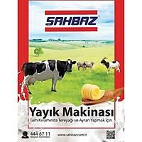 Þahbaz 37 Litre Yayýk Makinesi (Yoðurttan Tereyað)