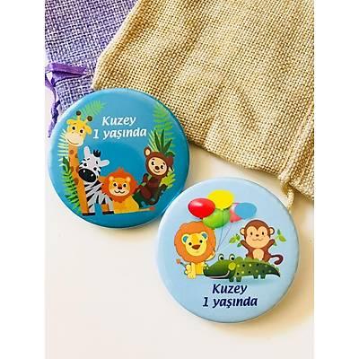 Safari Temalý  Erkek Çocuk Açacak Magnet