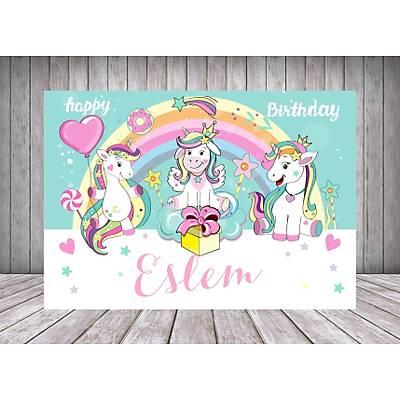Unicorn Temalý Poster/Afiþ/Branda