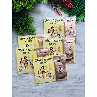 Prensesler Temalý  Hediyelik Kahve Paketi