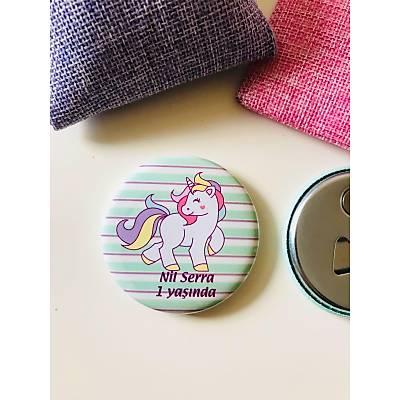 Kýz Çocuk Açacak Magnet Unicorn Temalý