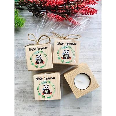 Panda Temalý Mumluk
