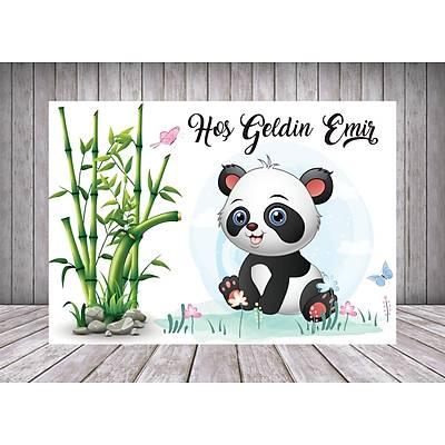 Panda Temalý Poster/Afiþ