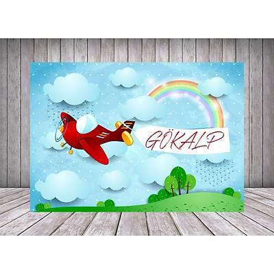 Uçak ve Gökyüzü Temalý Poster/Afiþ/Branda
