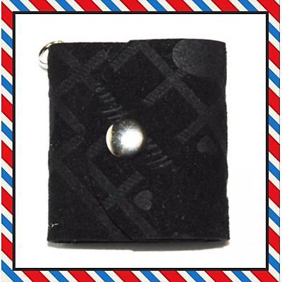 Mini Albüm Anahtarlýk (siyah  süet)