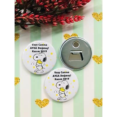 Kýz Çocuk Snoopy Temalý Açacak Magnet
