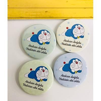 Erkek Çocuk Açacak Magnet Doraemon Temalý