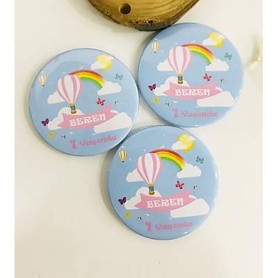 Kýz Çocuk Açacak Magnet Uçan Balon Temalý