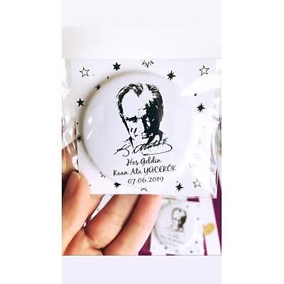 Erkek Çocuk Atatürk Temalý Açacak Magnet