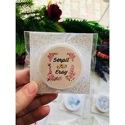 Mini Sabun Hediyelik -Çiçek Temalý