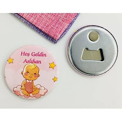 Kýz Çocuk Açacak Magnet Bebek Temalý