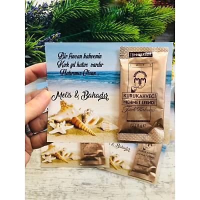 Deniz Yýldýzý Hediyelik Kahve Paketi