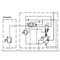 PSPK 1-20 FHRM-P Güç Regülasyonlu Deðiþken Debili Paletli Pompa (REMOTE CONTROL)