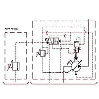 PSPK 1-25 FHRM-P Güç Regülasyonlu Deðiþken Debili Paletli Pompa (REMOTE CONTROL)