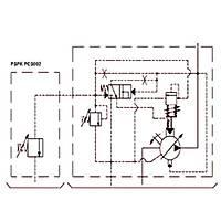 PSPK 3-63 FHRM-P Güç Regülasyonlu Deðiþken Debili Paletli Pompa (REMOTE CONTROL)