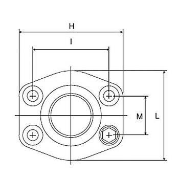 DFS410-ST 6000 PSI Serisi O-Ringli / O-Ringsiz Kaynaklý Düz Flanþ - Alýn Kaynaklý Tip