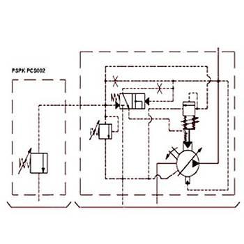 PSPK 3-80 FHRM-P Güç Regülasyonlu Deðiþken Debili Paletli Pompa (REMOTE CONTROL)