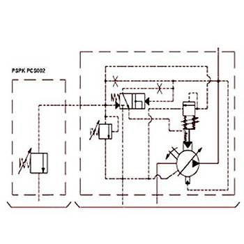 PSPK 3-100 FHRM-P Güç Regülasyonlu Deðiþken Debili Paletli Pompa (REMOTE CONTROL)